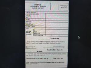 Kızlık testi raporu örneği